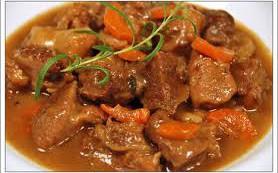 Мясо в пиве по-бельгийски