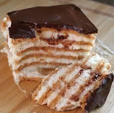 Домашний рецепт эклерного торта