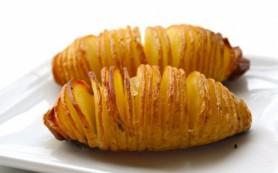 Запеченный картофель с луком