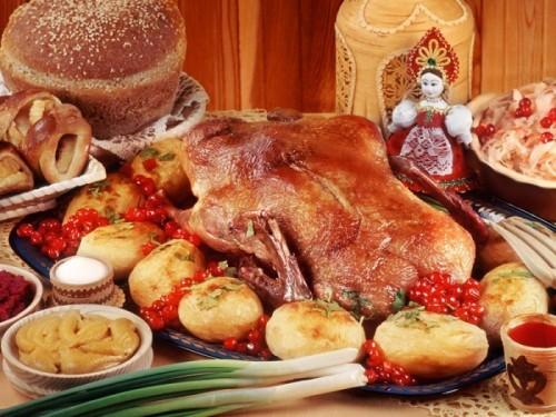 Национальные русские блюда