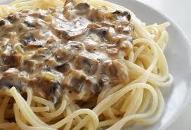 Грибной соус к спагетти
