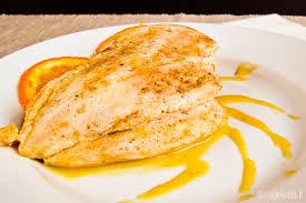 Куриное филе в апельсиновом маринаде