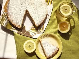 Лимонный пирог из Мадейры