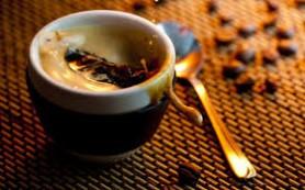 Холодный кофе с медом