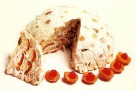 Бисквитный торт со сметаной и фруктами (вегетарианский)