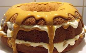Простой рецепт шоколадного торта с бананами
