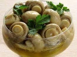 Маринованные грибы шампиньоны быстрого приготовления