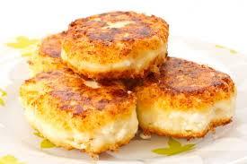 Сырники с картофелем