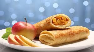 Яблочные блины — оригинальный рецепт без начинки, но с яблочным припеком