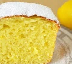 Творожный кекс с лимоном