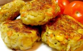 Картофельные тефтели с кабачком и брынзой