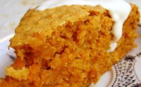 Восхитительный морковный пирог с орешками
