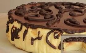 Торт «Птичье молоко» с лимонным вкусом.
