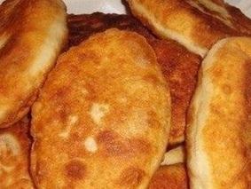 Быстрые пирожки с картошкой и мясом