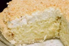 Кокосовый пирог со сливкам