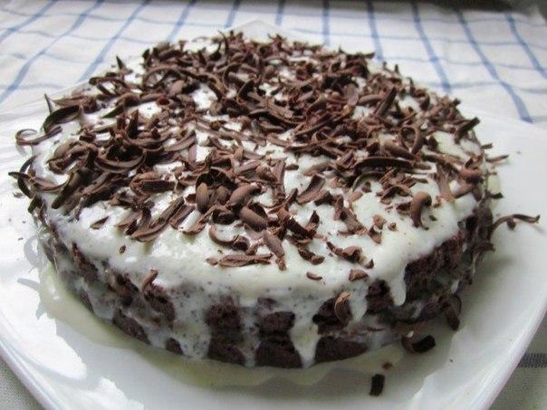 Шоколадный торт «Обыкновенное чудо»
