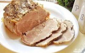 Буженина из свинины отварная