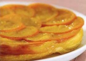 Слоеный торт с апельсинами