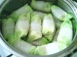 Голубцы из пекинской капусты.