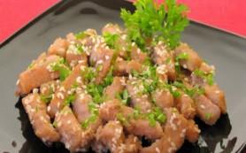 Мясо с кунжутом – закусочные палочки