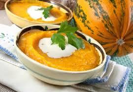 Суп-пюре из тыквы – рецепт с фаршем
