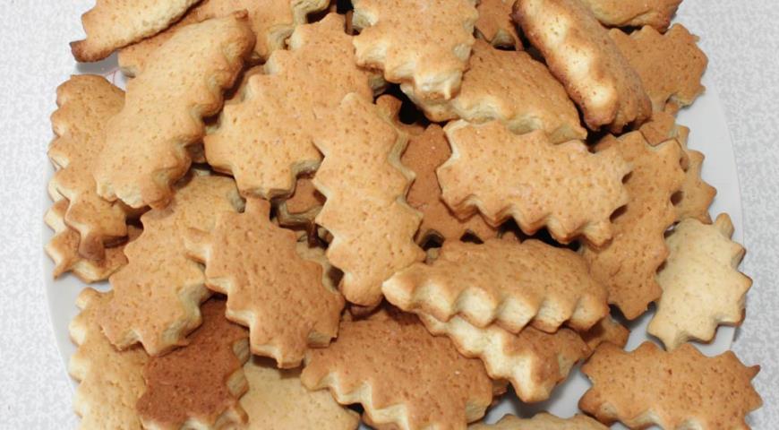 Помнится, моя мама готовила такое нестандартное печенье, когда я была маленькой.
