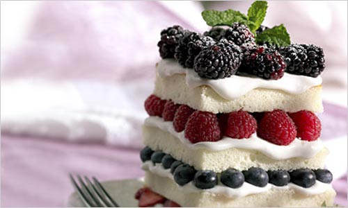 Торт. Виды украшений для тортов