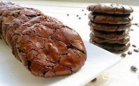 Шоколадное-шоколадное печенье.