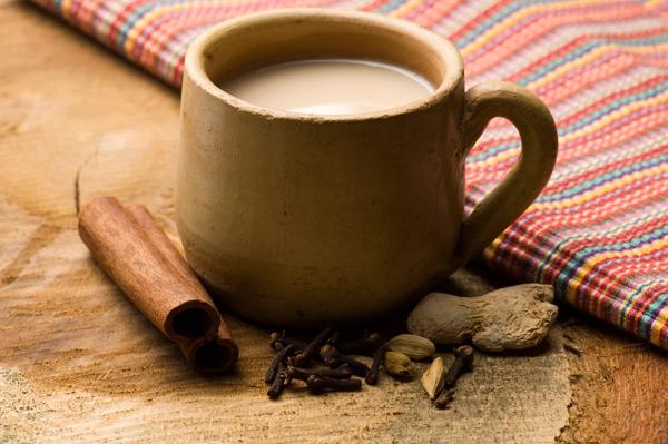 Шоколадный масала чай.