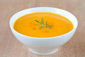 Тыквенный суп.