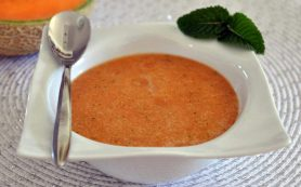 Холодный суп из дыни «Хей-хей»