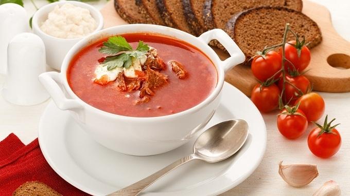 Грибной суп с фасолью «Умиление»