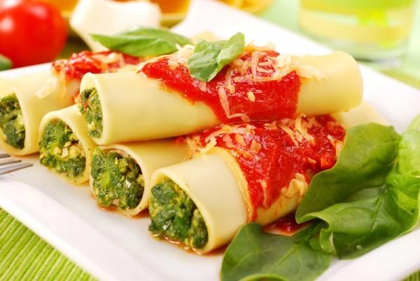 Вкус Италии: жульен в каннелони
