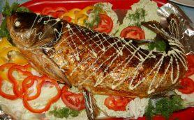 Фаршированная рыба рецепт