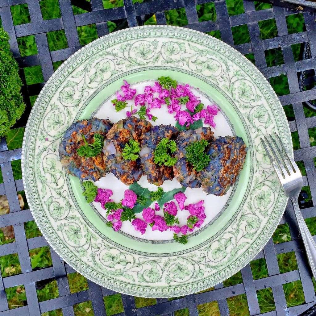Вегетарианские котлеты из цветной капусты