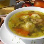 Суп болгарский с сырными шариками