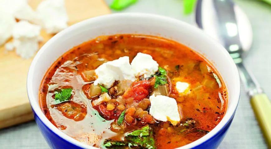 Суп «Индийские мотивы»