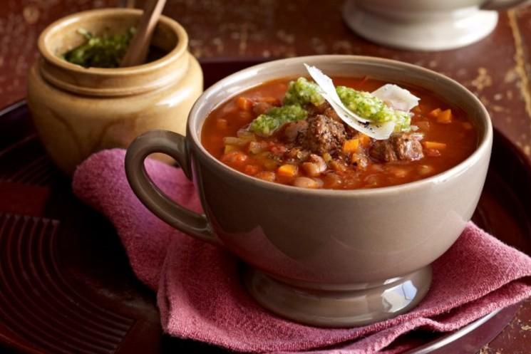 Простой куриный суп с кабачками на каждый день