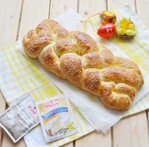 Болгарский пасхальный хлеб «Великденски козунак»