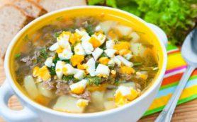 Суп со щавелем
