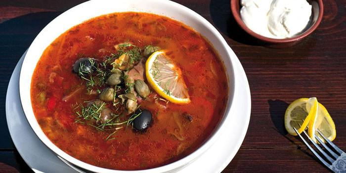 Рецепты блюд кухни солянка домашняя