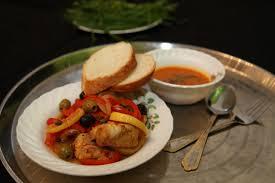 Кабкабу (тунисская рыбная солянка) в мультиварке