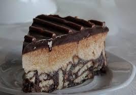 Торт «Чёрное и белое» без выпечки