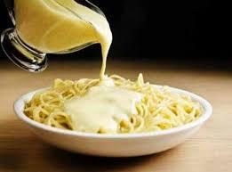 Сырная подлива длямакарон