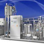 Трубчатая установка для пастеризации молока