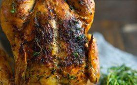 Запечённая курица к новогоднему столу