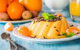 Десерт «Апельсиновая нежность»