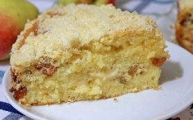 Обалденный яблочный пирог «Домашний»