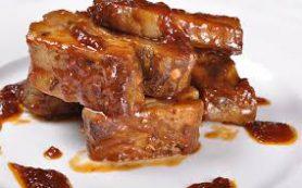 Свинина в медово-горчичном маринаде