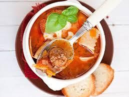Суп из лазаньи